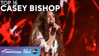"""Slay! Casey Bishop ROCKS The Stage With Soundgarden's """"Black Hole Sun"""" - American Idol 2021"""