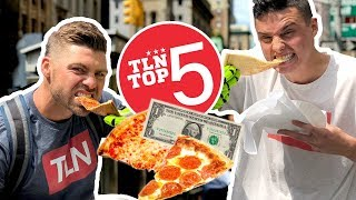 BEST DOLLAR SLICE in New York?   Top 5 with Rob Pannell