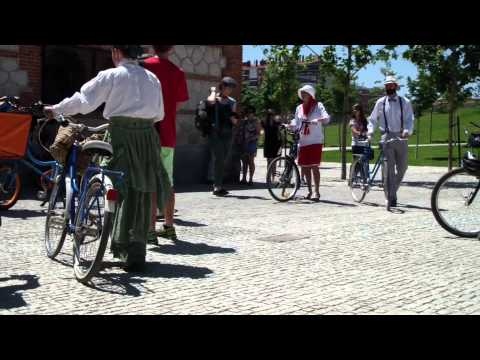 Tweed Ride Madrid 2014