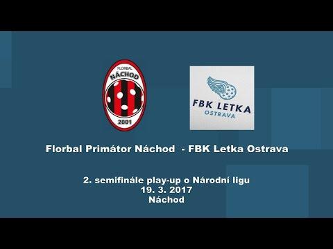 Play-Up o Národní ligu, Náchod - FBK Letka Ostrava