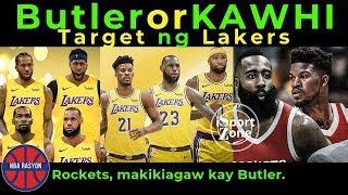Butler o Kawhi TARGET ng Lakers | Rockets makikiagaw kay Jimmy Butler