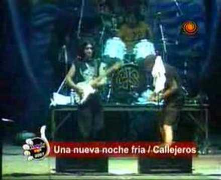 Callejeros - vivo Cosquin - Una Nueva Noche Fria