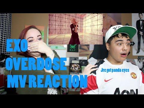EXO 중독Overdose MV Reaction   JREKML DOUBLE TROUBLE
