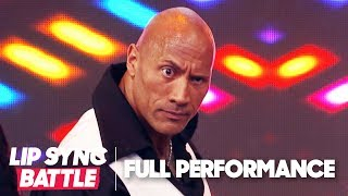 Dwayne Johnson's 'Shake it Off' & 'Stayin' Alive' | Lip Sync Battle