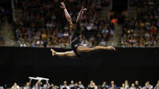 Simone Biles lands triple-double