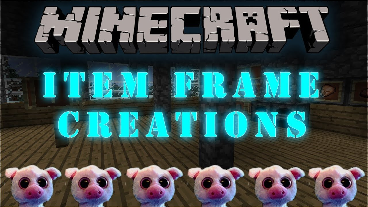 Minecraft Snapshot 12w34a B Item Frame Creations Youtube