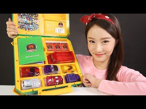 캐리의 터닝메카드 바벨 모스톤 메가 그리폰 스핑크스 & 터닝카 배틀박스 장난감 놀이 CarrieAndToys