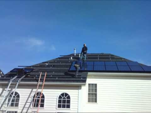 9.87 kW Residential Solar Energy System Installation