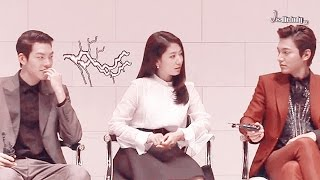 Minshin story 6 (2) - The Heirs Press Conference : interview