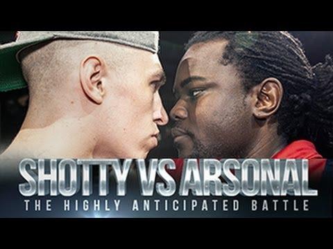 SHOTTY HORROH VS ARSONAL | Don't Flop Rap Battle