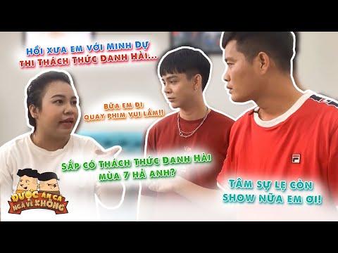 Khương Dừa quên luôn show Được Ăn Cả Ngã Về Không khi mải mê tâm sự chuyện cũ với Lê Trang,Tuấn Kiệt
