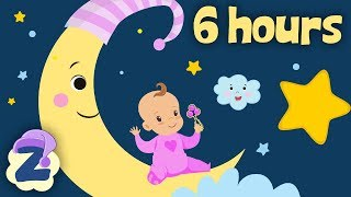 ⭐⭐Rock A Bye Baby 🍼6 Hours Non Stop 💤Baby Lullabies & Relaxing Music by Zouzounia TV