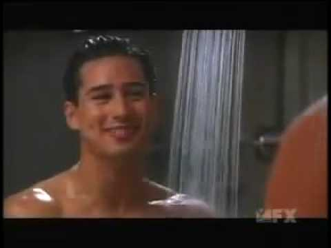 mario lopez caught naked