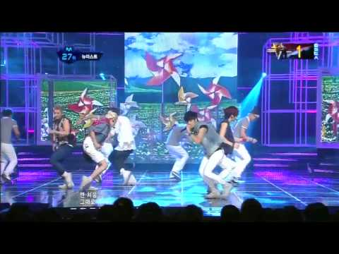 뉴이스트_Not Over You( Not Over You by NU'EST @Mcountdown 2012.08.16)