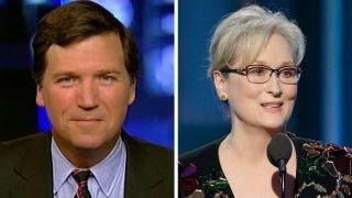 Tucker Carlson responds to Meryl Streep: 'She's no outsider'