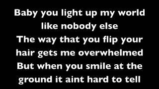 One Direction - What Makes You Beautiful - Lyrics