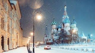 Moscow hứng trận tuyết rơi trăm năm mới có một lần