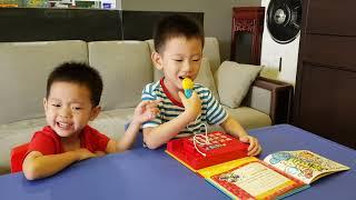 Miki House Kids Karaoke ABC Song Steven Steps Six Little Ducks Happy Birthday