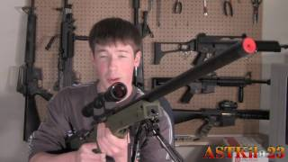 DIY: UTG L96 Hop Up and Barrel Disassembly and Reassembly -ASTKilo23-