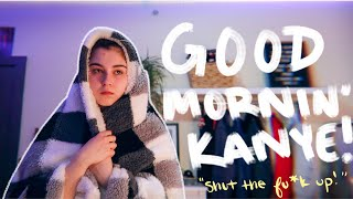 my college morning routine as a morning hater.
