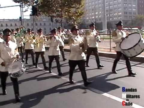 Relevos de Guardia en La Moneda 2012 Parte 2.