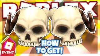 [GLITCHED EVENT] How to get the SKELETAL SHOULDER PADS | Roblox Azure Mines