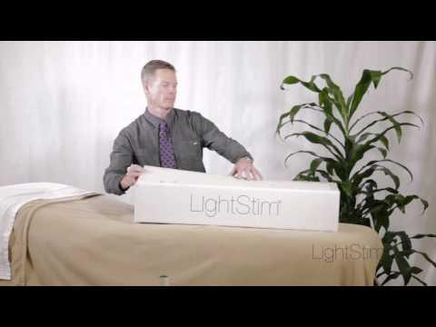 Setting up your LightStim Professional 2-Panel Light
