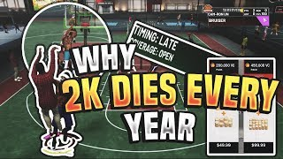 WHY NBA 2K DIES EVERY YEAR!!! NBA 2K19 IS A PERFECT EXAMPLE