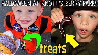 Spooky Halloween at Knott's Berry Farm    Family Fun Pack