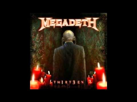 Megadeth: Thirteen(Lyrics y subtitulos en español)