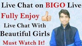 How to Live Chat on BIGO - Use BIGO Live app!!😀