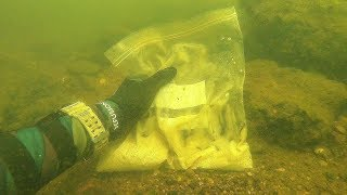 Found Possible Human Remains Underwater in River! (Inside a Plastic Bag)