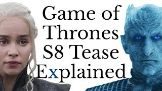 "Game of Thrones Season 8 ""Dragonstone"" Teaser Explained"