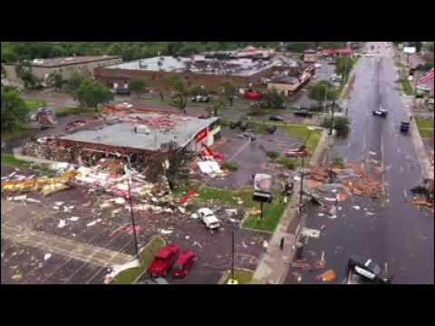 severe tornado storm damage that occurred last night in Sioux Falls (9/11/2019)