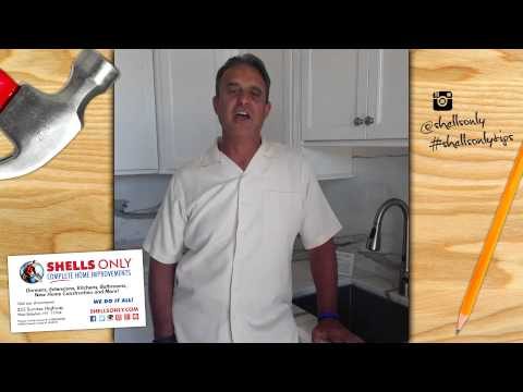 Avoid Particleboard in a Kitchen or Bathroom | Fifteen Second Tips by Shells Only