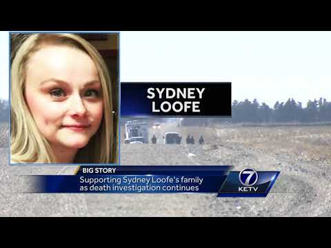 Supporting Sydney Loofe's family as death investigation continues