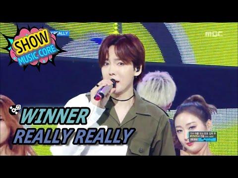 [HOT] WINNER - REALLY REALLY, 위너 - 릴리릴리 Show Music core 20170520