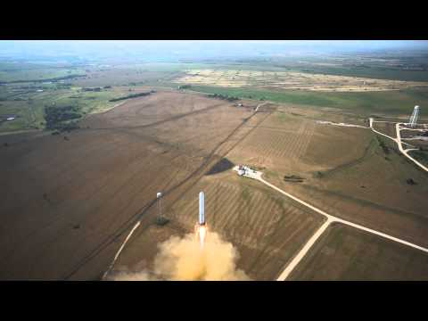 Test rakiety Grasshopper Space X