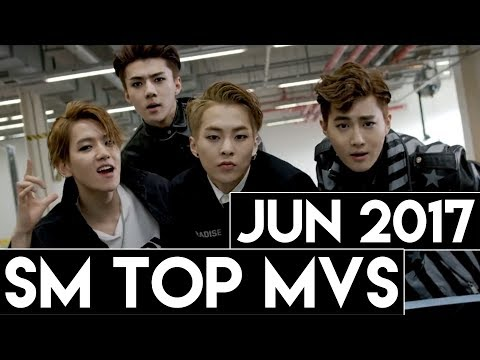 [TOP 60] Most Viewed SM MVs [June 2017]