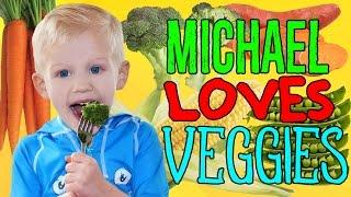 Eat Vegetables Like Michael!