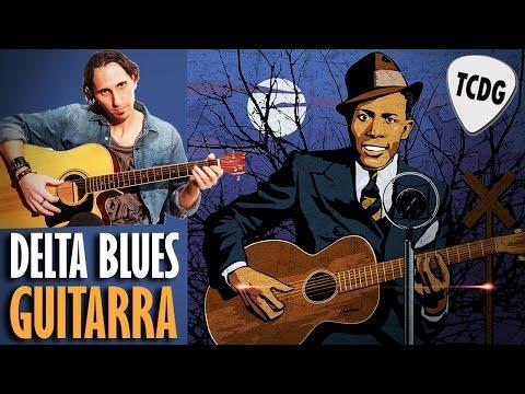 Aprende Como Tocar Blues En Guitarra Acústica Estilo Robert Johnson TCDG
