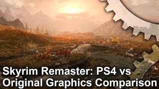 Skyrim Special Edition - PS4 Remaster vs PC Original Grafikai Összehasonlítás