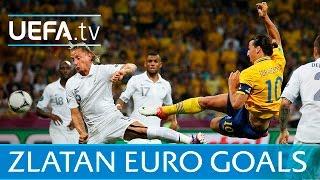 Zlatan Ibrahimović: Watch all of his EURO goals!