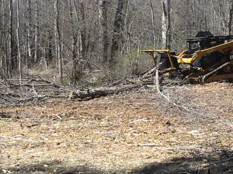 SS Extreme Mulcher on a CAT 299 XHP