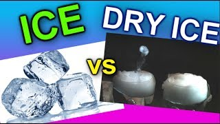 Ice vs Dry Ice.... which cools better?