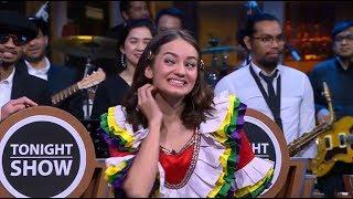 Enzy Kasih Clue dari Ge Ge eS, Penonton Tonight Show Mana Ngerti???
