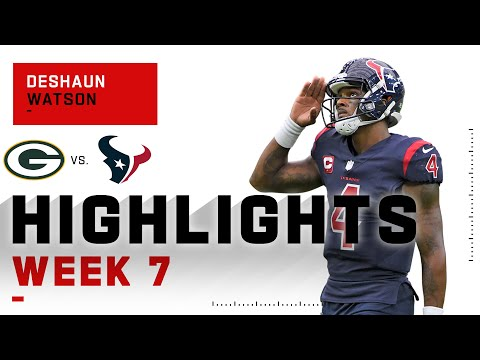 Deshaun Watson Highlights vs. Packers | NFL 2020