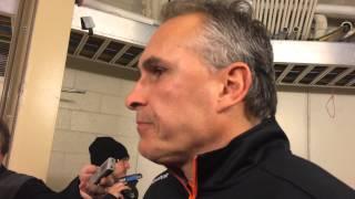 Flyers coach Craig Berube talks Claude Giroux
