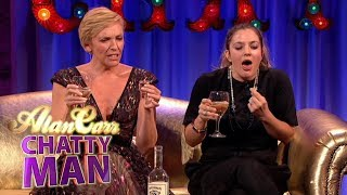Drew Barrymore & Toni Collette Do Awkward Karaoke! | Full Interview | Alan Carr: Chatty Man