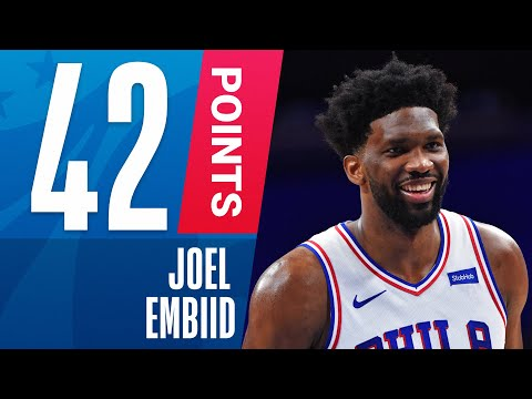 Joel Embiid GOES OFF For 42 PTS & 10 REB To Guide The 76ers!